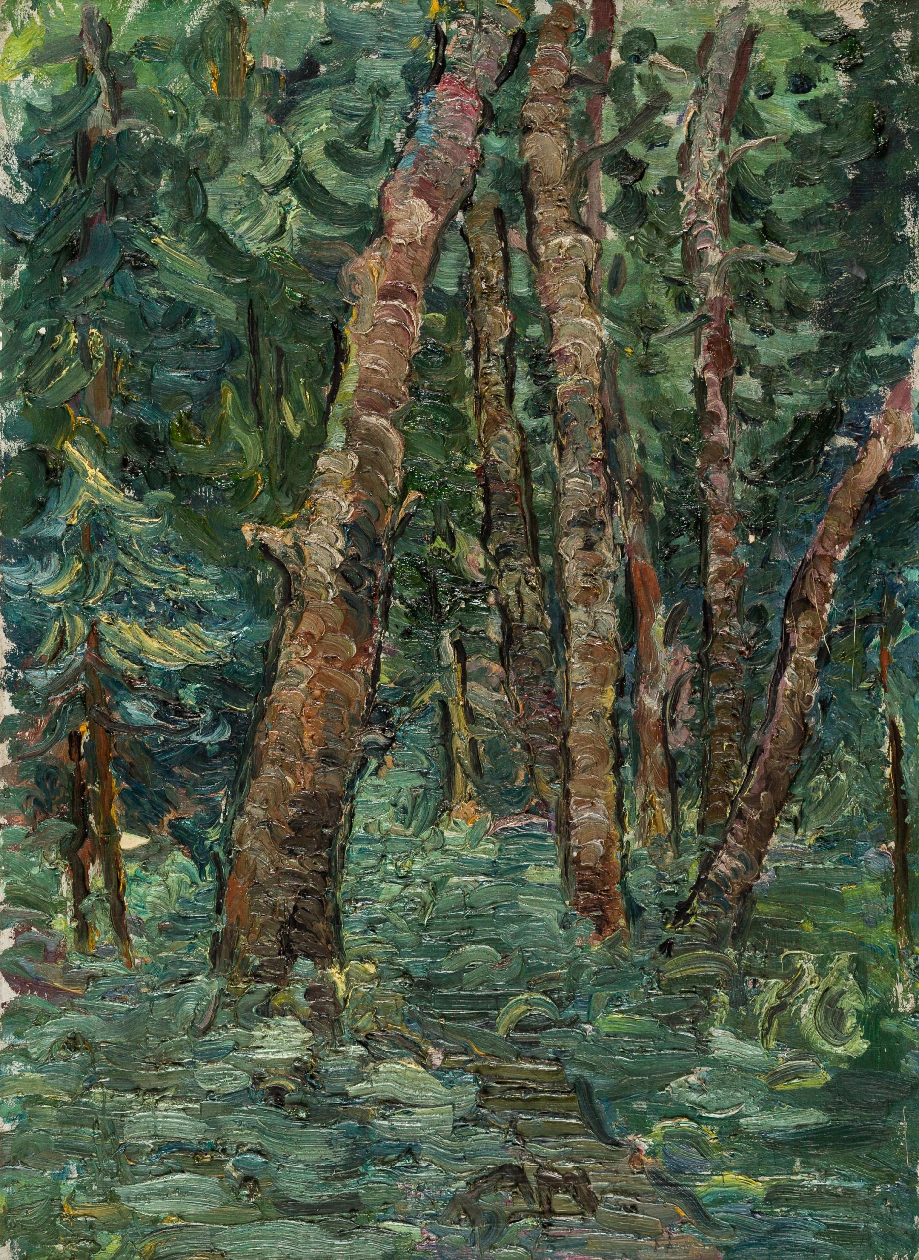 Anton Mahringer, Waldstück