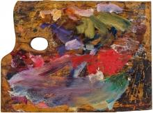 Egon Schiele, Letzte Malerpalette 1918