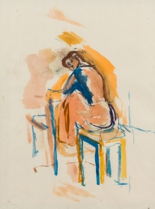 Giselbert Hoke, Sitzende