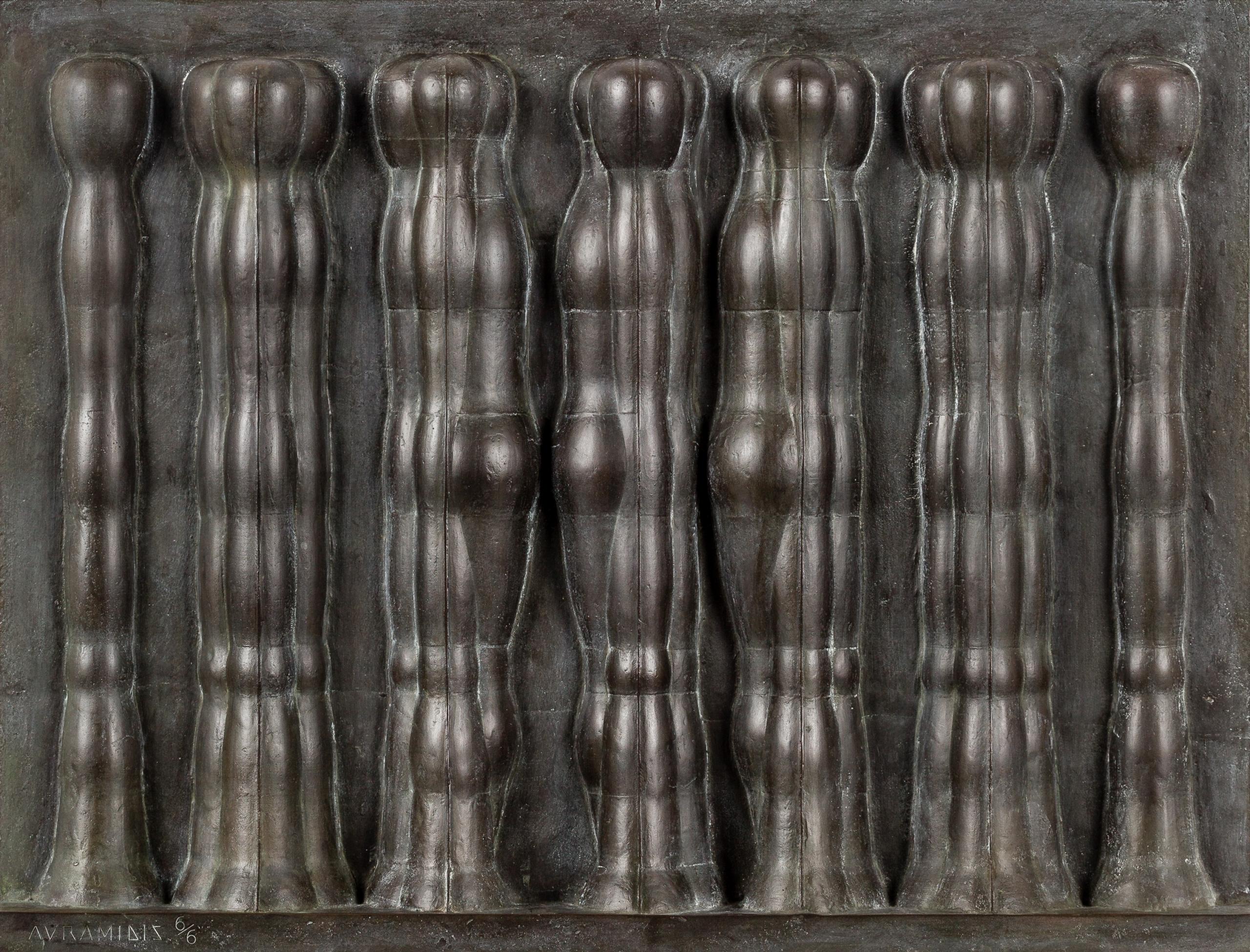 Joannis Avramidis, Relief mit sieben Figuren