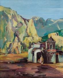 Viktor Tischler, spanische Landschaft