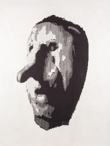 Peter Kogler, Ohne Titel (Knollenkopf)