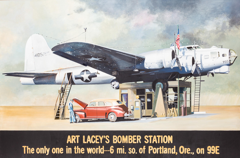 Franz Zadrazil, ART LACEY'S BOMBER STATION