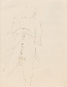 Egon Schiele, Ohne Titel