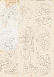 Hermann Nitsch, Ohne Titel (Original-Entwurf)