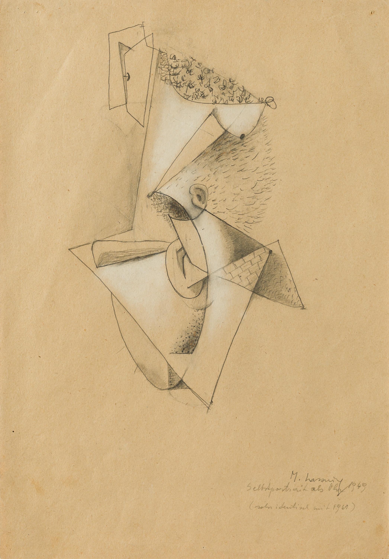 Maria Lassnig, Selbstportrait als Ohr