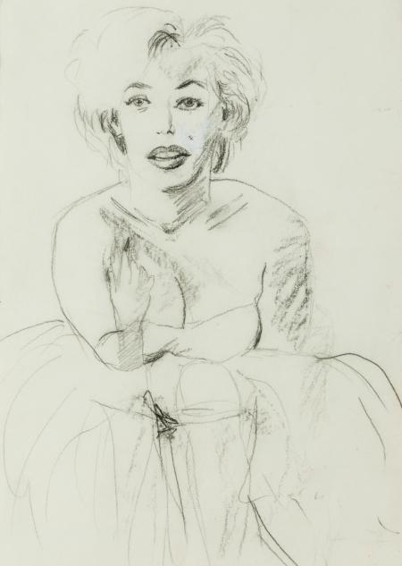 Elke Krystufek, Ohne Titel (Marilyn)