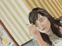 Bianca Regl, Café Museum (Selbstporträt)
