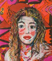 Elke Krystufek, Selbstporträt
