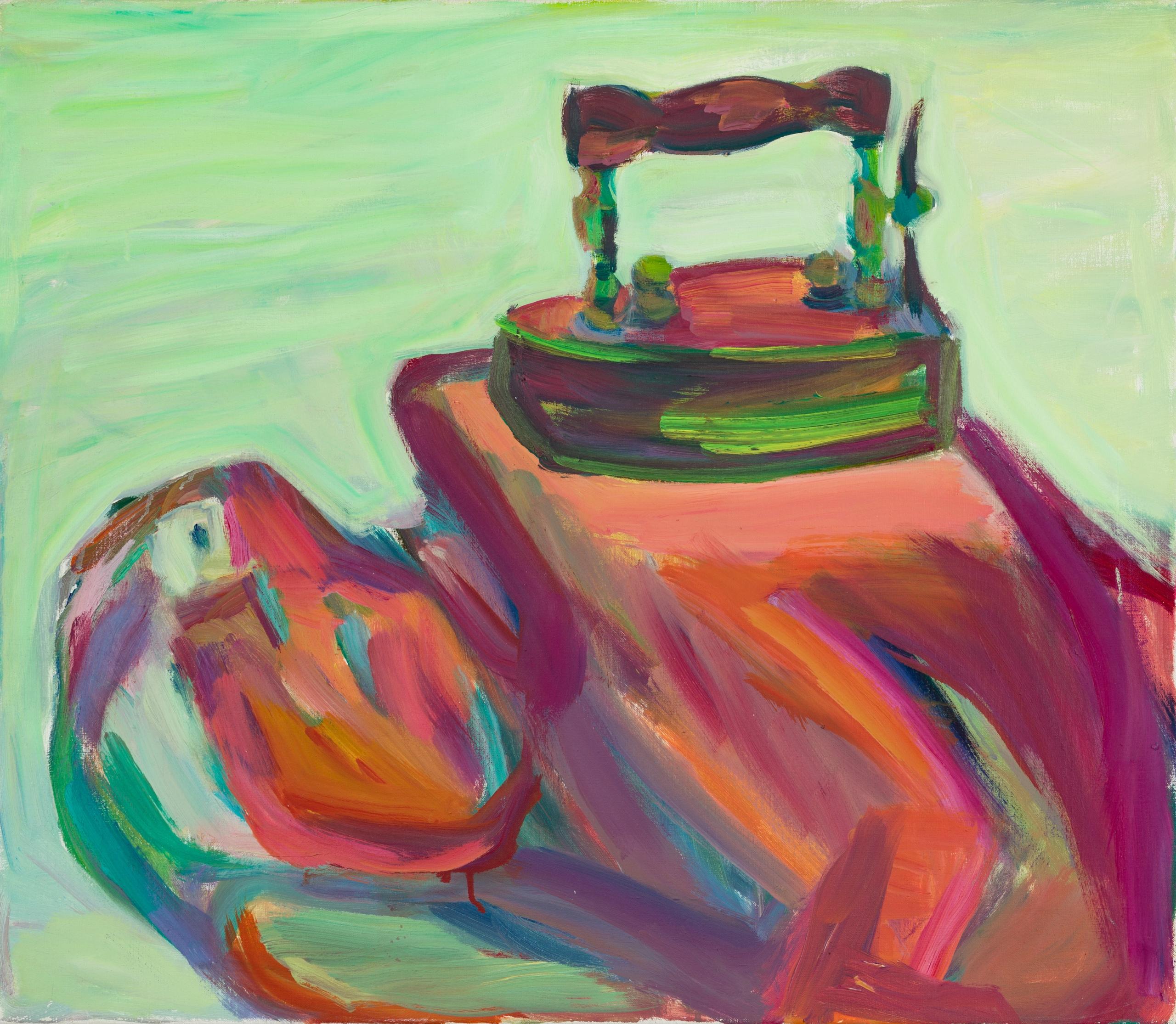 Maria Lassnig, Hausfrau/Die Büglerin