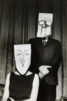 Inge Morath, Saul Steinberg - Couple