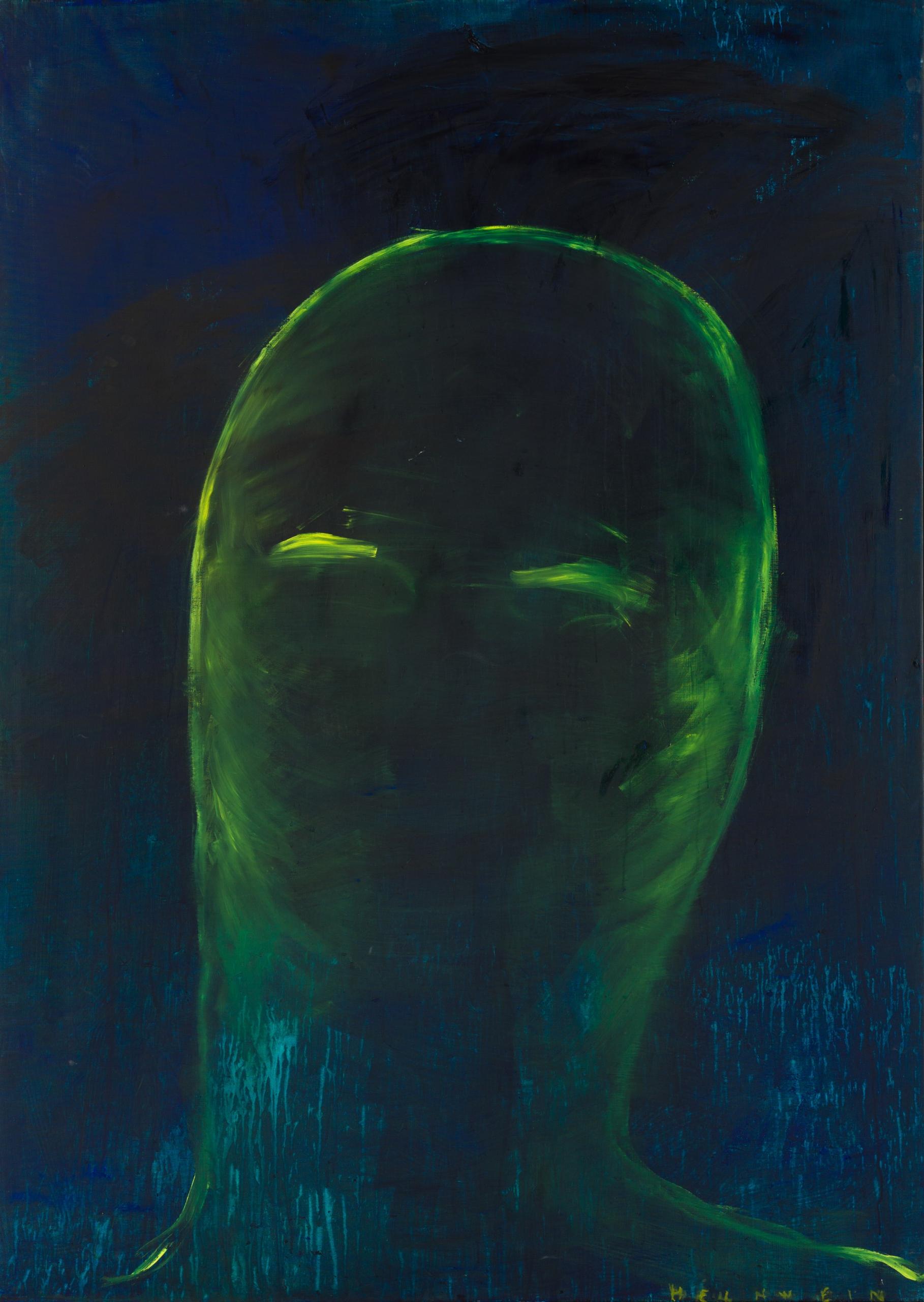 Gottfried Helnwein, Ein Schrei (Selbstporträt 8)
