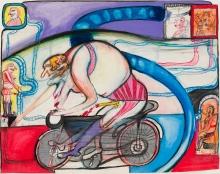 Franz Ringel, Der Radfahrer