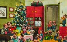 Manfred Deix, Weihnachten 77