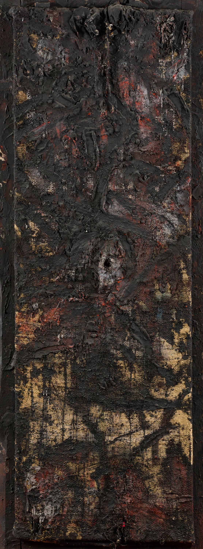 Adolf Frohner, Ohne Titel (Materialbild)