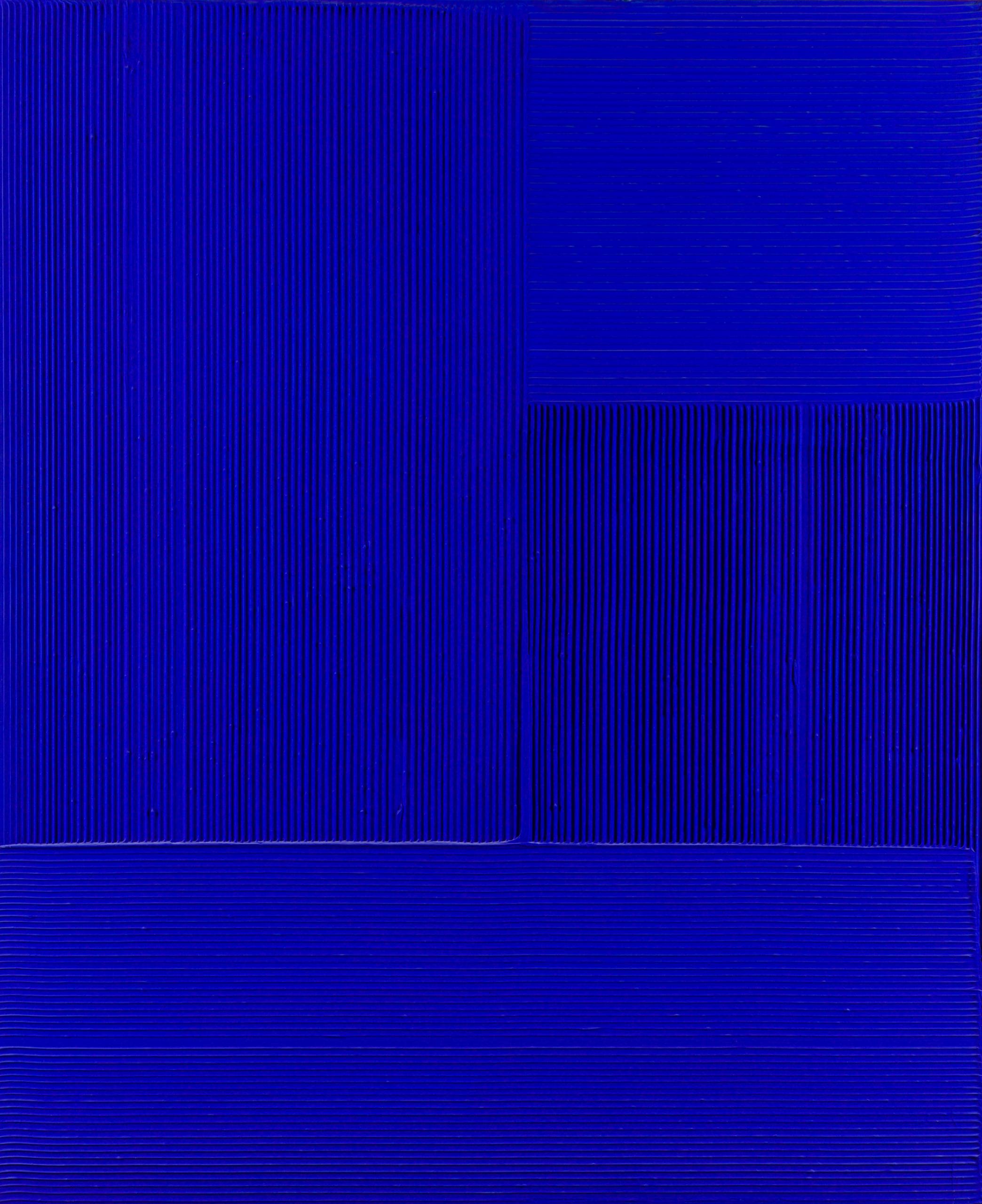 Jakob Gasteiger, Ohne Titel (19.12.2006 Blau)
