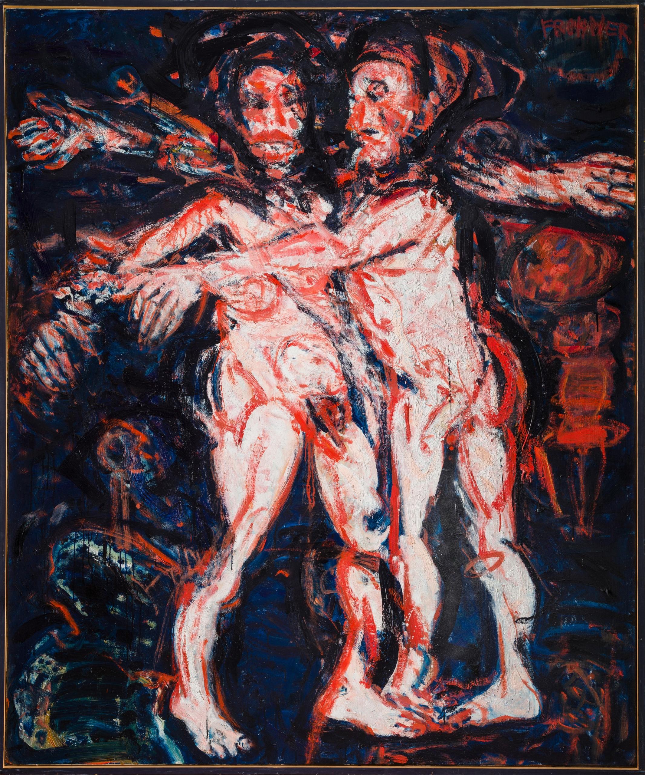 Adolf Frohner, Der ungestüme Adam