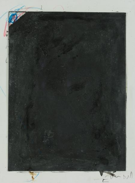 Arnulf Rainer, E vor Rot