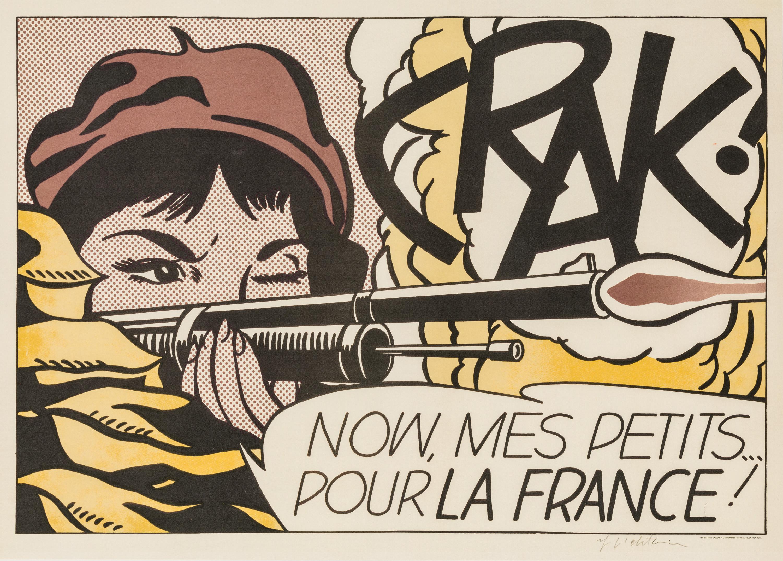 Roy Lichtenstein, CRAK!