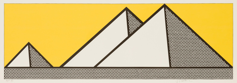 Roy Lichtenstein, Pyramides