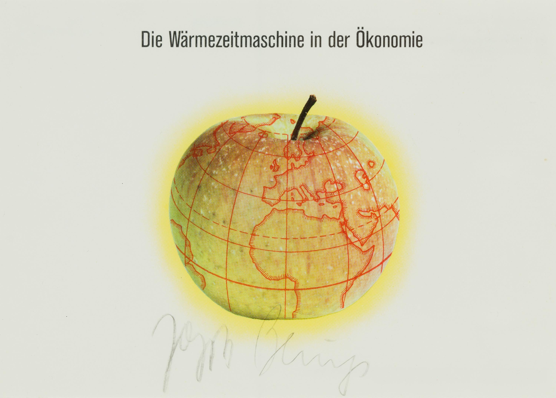 Joseph Beuys, Die Wärmezeitmaschine in der Ökonomie und Laß Jack Burnham ruhig auch mal was essen