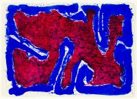 Sam Francis, Serpent on the stone