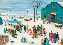 Hermann Serient, Hochzeit im Schnee