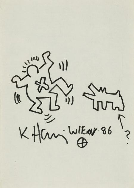 Keith Haring, Ohne Titel