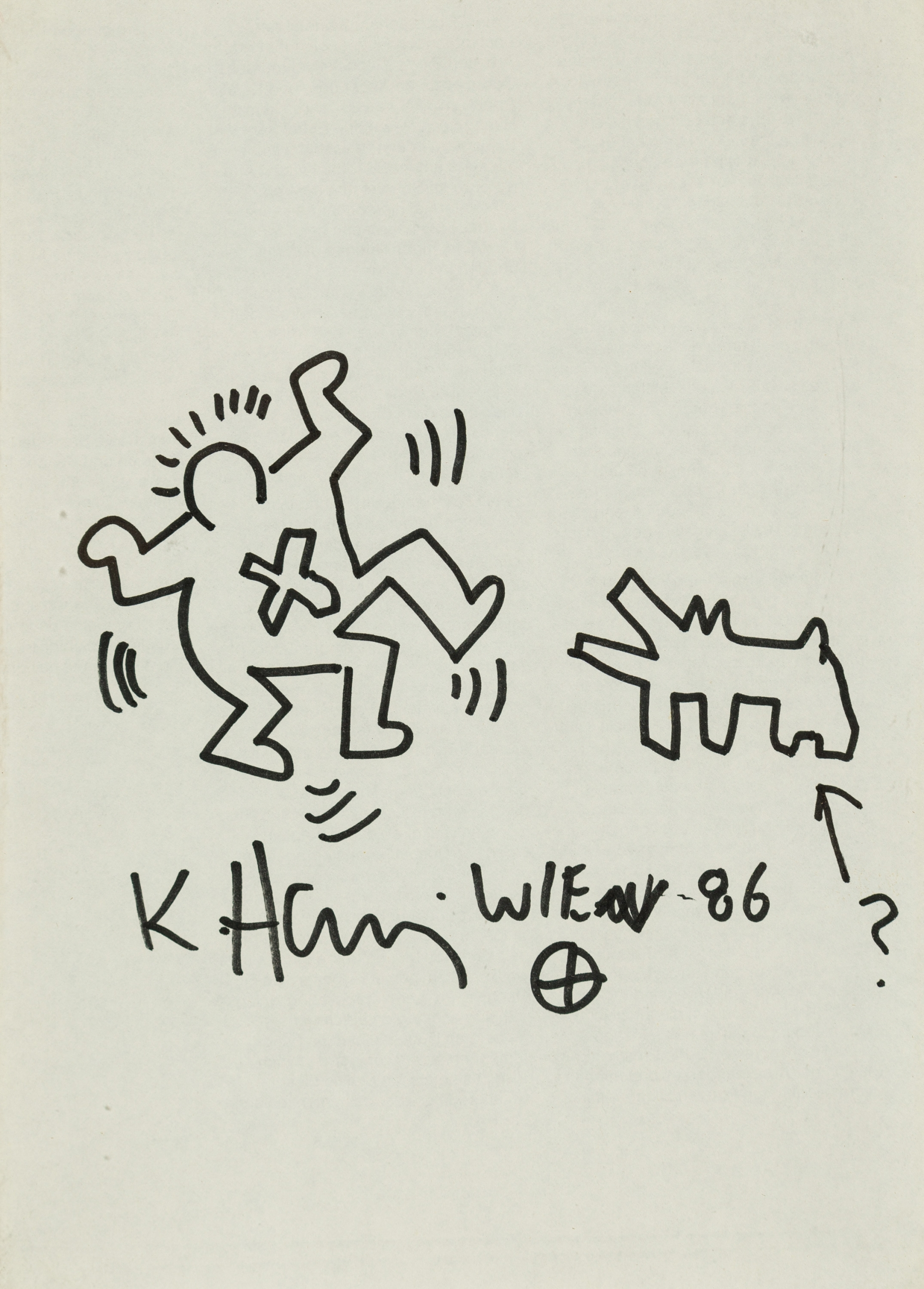 Keith Haring, Ohne Titel