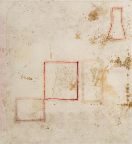 Hermann Nitsch, Ohne Titel (Aktionsrelikt - Bologna 1977)