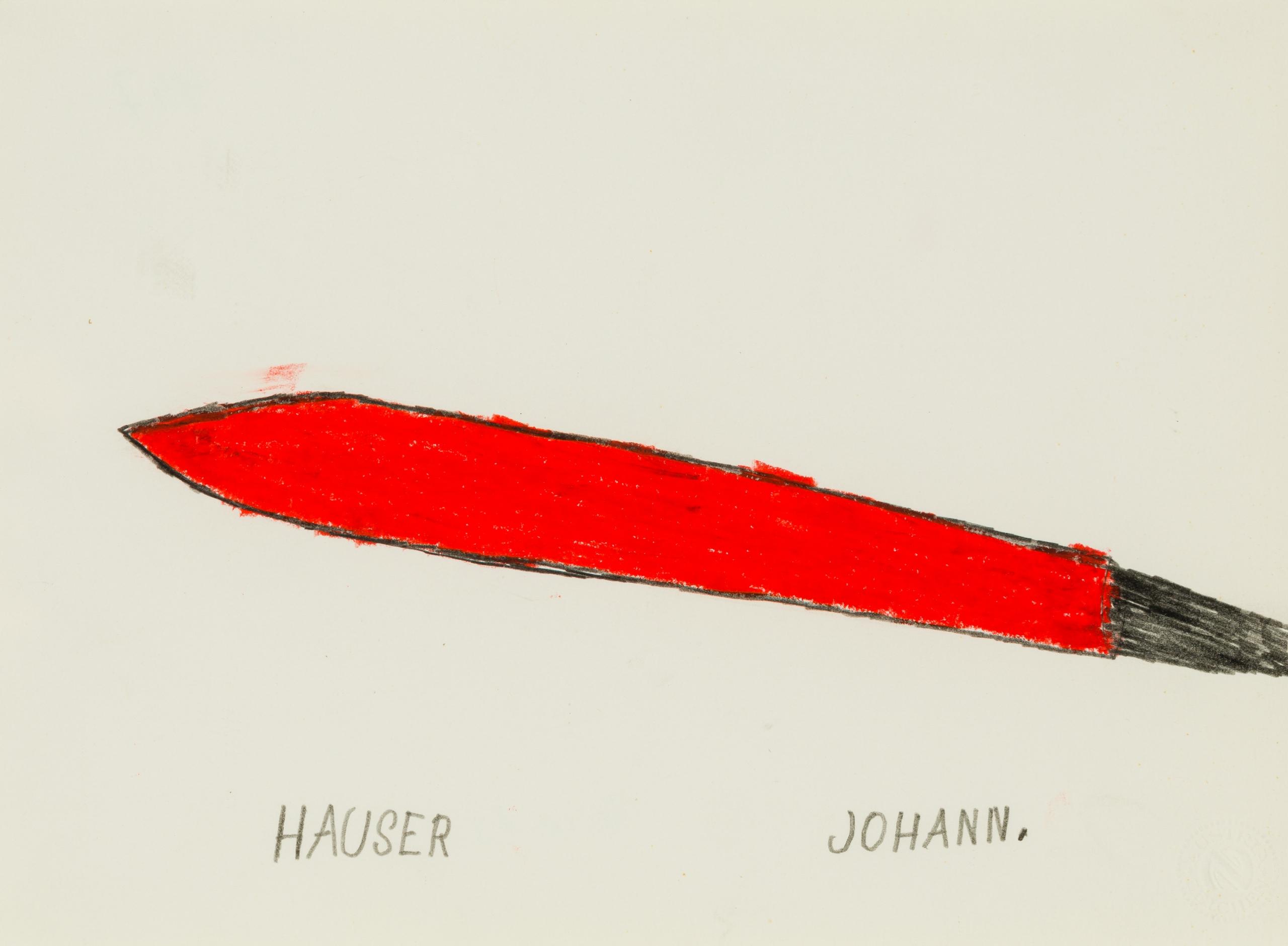 Johann Hauser, Rakete