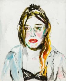 Elke Krystufek, Ohne Titel (Selbstportrait)