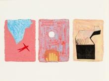 Johannes Zechner, MASADA (Israel) Triptychon