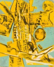 Herbert Zangs, Yellow Wheelwalks