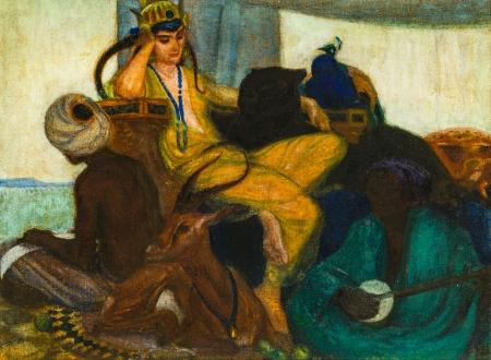 Norbertine von Bresslern-Roth, Orientalisches Märchen