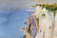 Hans Kruckenhauser, Steilküste von Calais