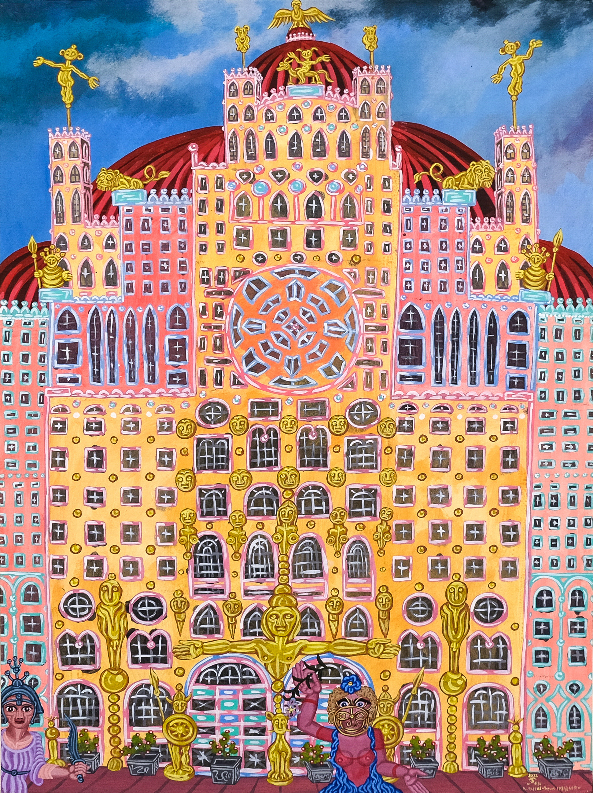 Robert Zeppel-Sperl, Palast der Sinne