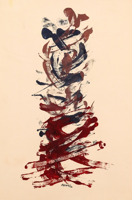 Friedrich Aduatz, Komposition Rot Blau
