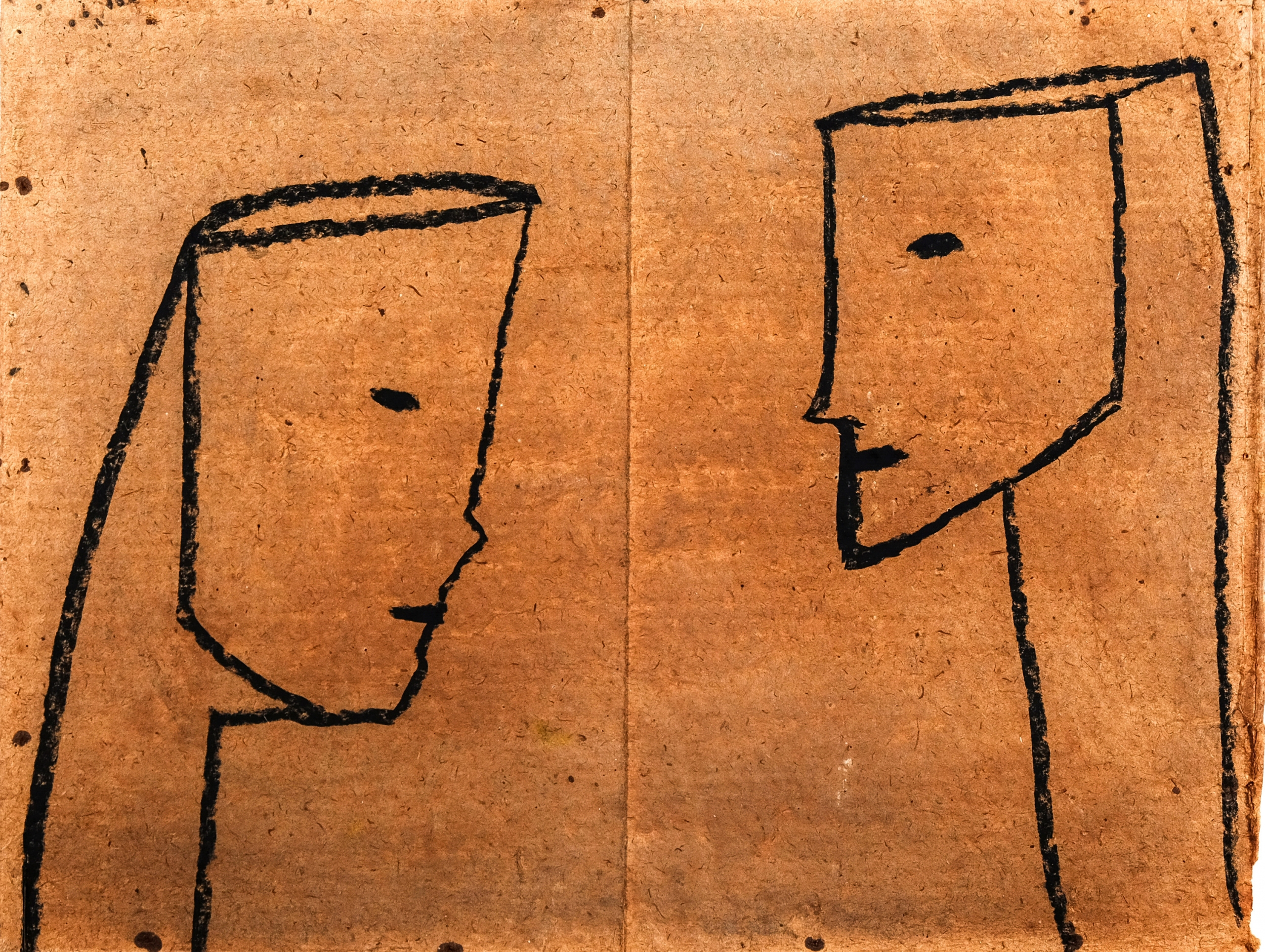 Franz Blaas, Zwei Gesichter