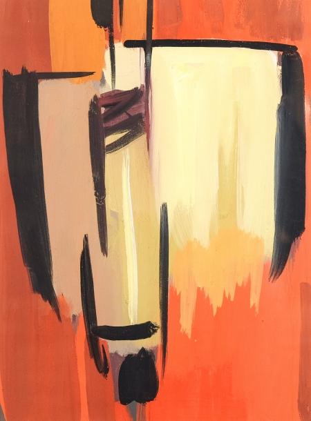 Hans Grünseis, Abstrakte Komposition