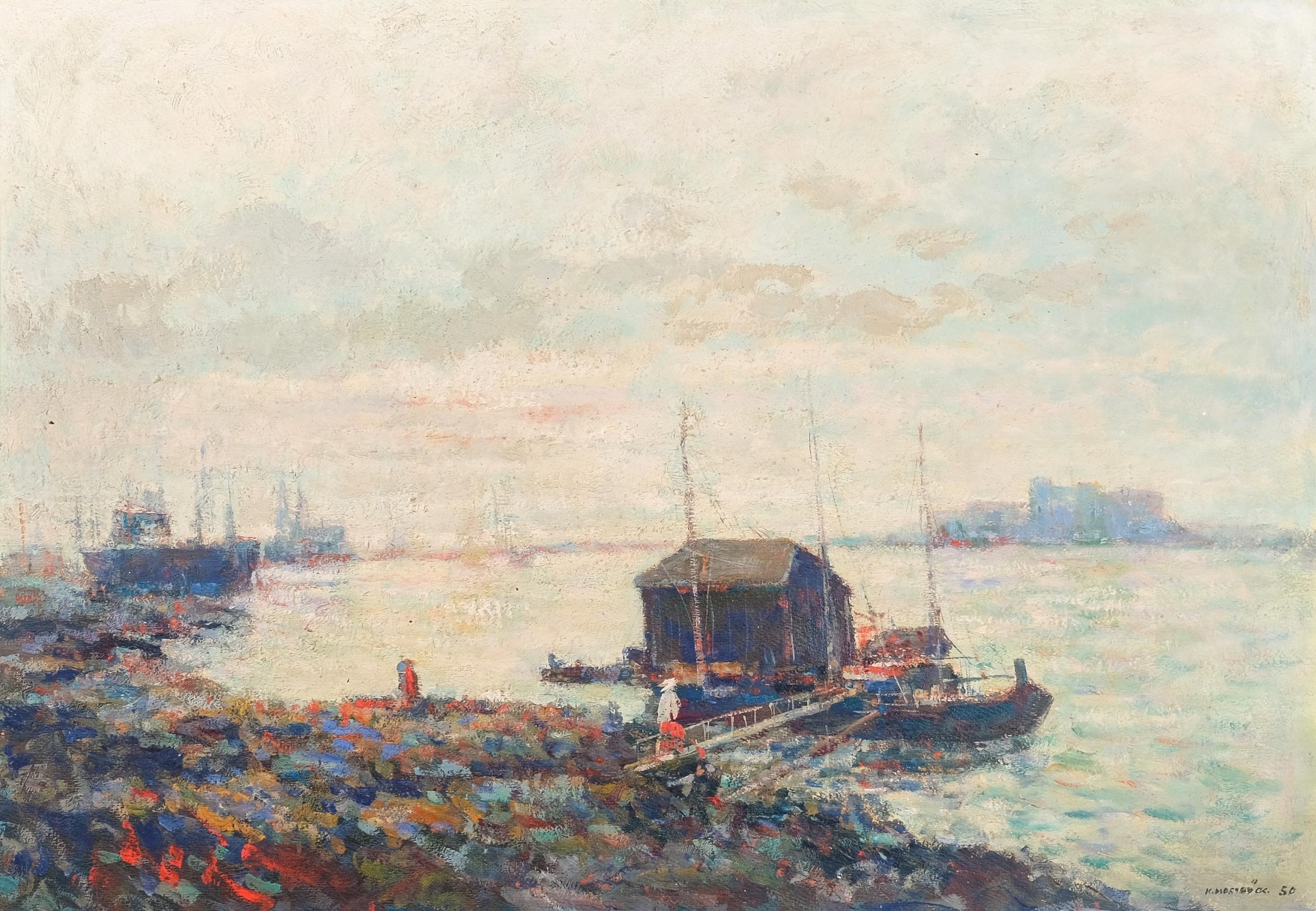Karl Mostböck, Landschaft