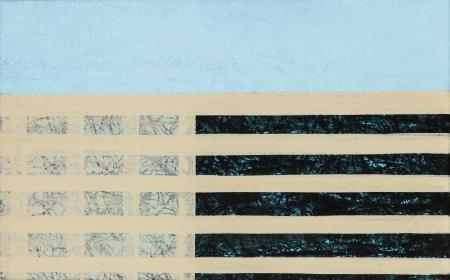 """Hannah Stippl, Ohne Titel / untitled  (aus der Serie """"blue_04"""") / (serie """"blue_04"""")"""