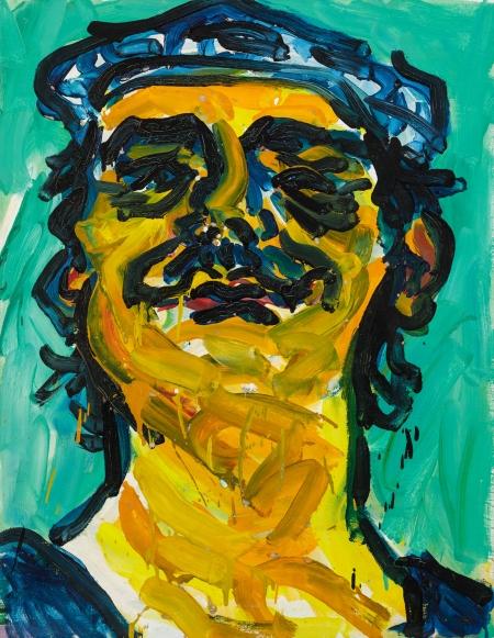 Otto Mühl, Ohne Titel (Selbstporträt) / untitled (self portrait)