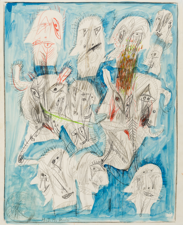 Franz Ringel, Ohne Titel (Köpfe) / untitled (heads)