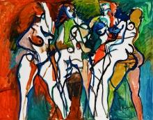 Alfred Kornberger, Eine Nacht im Moulin Rouge