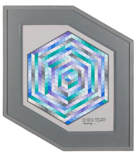 Victor Vasarely, Ohne Titel / untitled