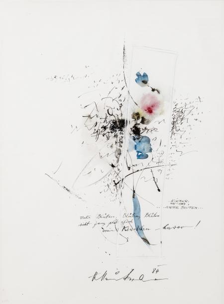 Hans Staudacher, Unter Blüten, Blüten, Blüten ….