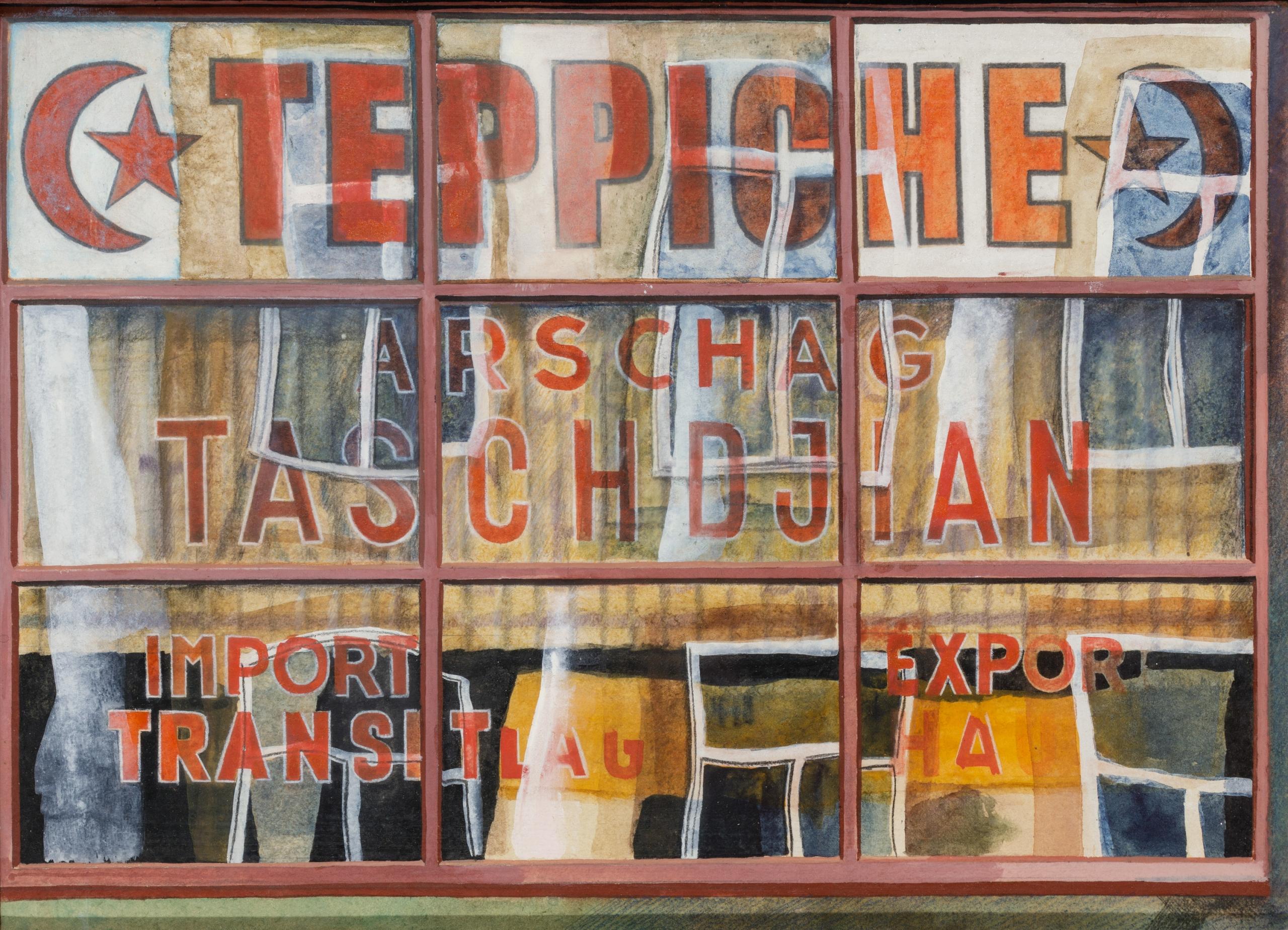 Franz Zadrazil, Teppiche Arschag Taschdjian