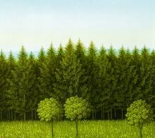 Josef Bramer, Wald