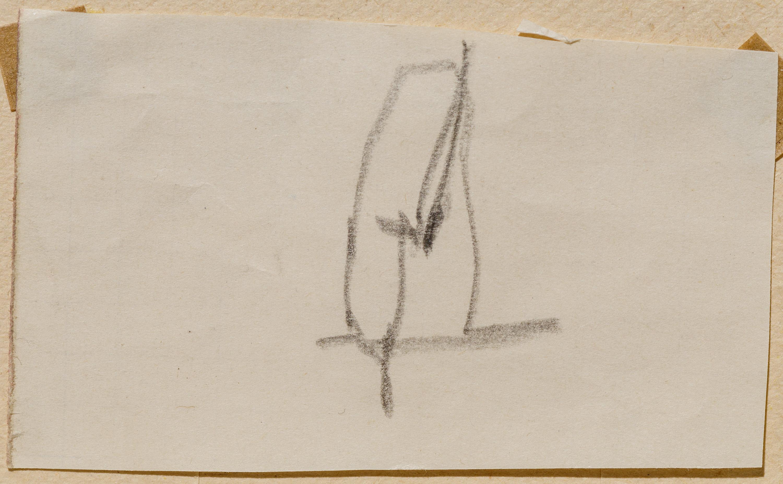 Egon Schiele, Ohne Titel (Skizze) / untitled (study)